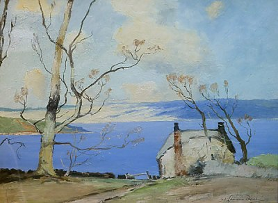 Loch by Samuel Lamorna Birch